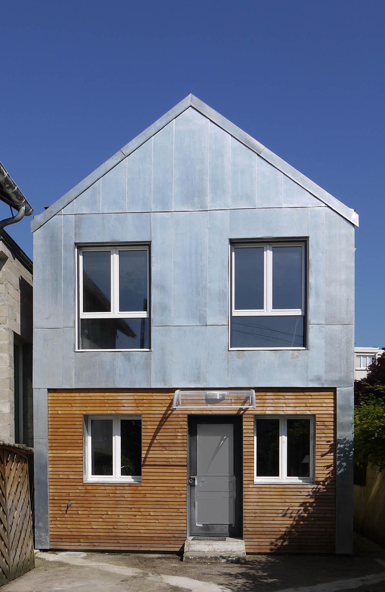 Laurence cornouextension maison individuelle antony 92 for Garage antony 92