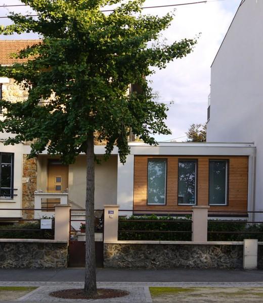 Laurence cornouextension d 39 une maison individuelle laurence cornou - Une maison un jardin berthenay versailles ...